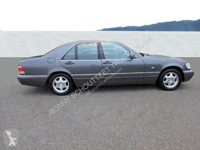 View images Mercedes S  Limousine S  Limousine, einer der letzt gebauten, Traum-Zustand van