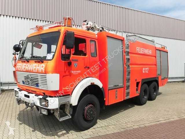 Vedeţi fotografiile Vehicul utilitar Mercedes SK 2628 A 6x6 SK 2628 A 6x6 Autom./NSW/Dachluke