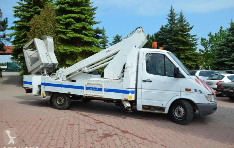 Zobaczyć zdjęcia Pojazd dostawczy Mercedes Podnośnik Koszowy Zwyżka Mercedes 313 CDI 17 M