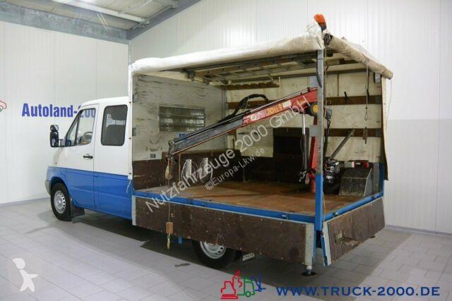 Voir les photos Véhicule utilitaire Mercedes Sprinter 313 6-Sitze Kran 750 KG grüne Plakette