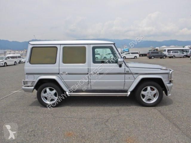 Voir les photos Véhicule utilitaire Mercedes G  lang G  4x4 lang, 7-Sitzer, mehrfach VORHANDEN!