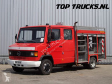 Mercedes 711D, feuerwehr - fire brigade - brandweer, Pomp, Watertank