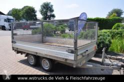 Hapert Rückwärtskipper mit Laubaufsatz trailer