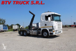 camion Scania 124 L 400 MOTRICE SCARRABILE CON GANCIO ITALEV