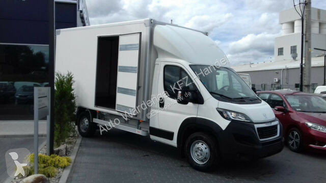Voir les photos Véhicule utilitaire Peugeot Boxer Backwaren Transporter Bäckerei Koffer