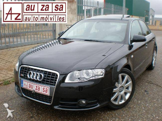 voiture citadine occasion audi a4 2 0tdi 170 cv s line. Black Bedroom Furniture Sets. Home Design Ideas