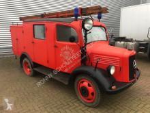 brandmands ladvogn Mercedes