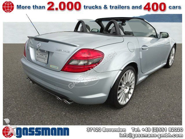 voiture mercedes cabriolet slk 55 amg ca km 4x vorhanden occasion n 2096417. Black Bedroom Furniture Sets. Home Design Ideas