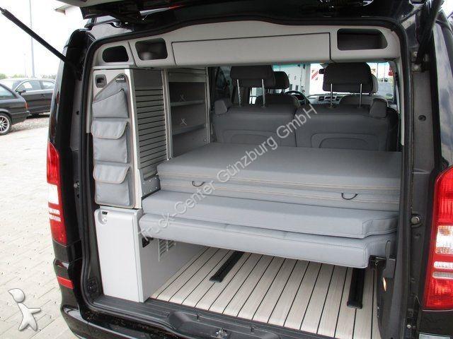camping car mercedes viano 3 0 cdi marco polo edition leder xenon occasion n 2104042. Black Bedroom Furniture Sets. Home Design Ideas