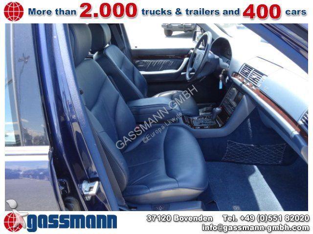 voiture mercedes cabriolet s 320 limousine 8x vorhanden. Black Bedroom Furniture Sets. Home Design Ideas