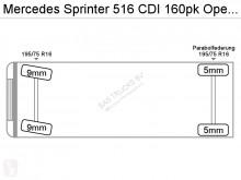 Преглед на снимките Лекотоварен автомобил Mercedes 516 CDI 160pk Open laadbak 4,30mtr Lang Airco L4H1 A/C