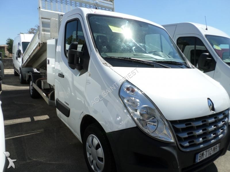 utilitaire benne renault master chassis 2 3 dci 125 occasion n 1366341. Black Bedroom Furniture Sets. Home Design Ideas