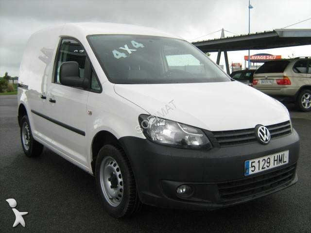 fourgon utilitaire volkswagen caddy 1 9 tdi 4x4 occasion. Black Bedroom Furniture Sets. Home Design Ideas