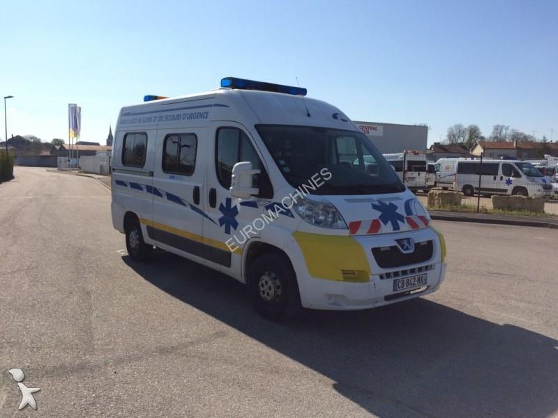 ambulance occasion peugeot nc boxer l2h2 120 cv - 2007