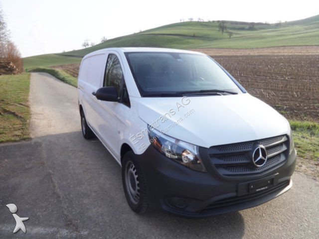 fourgon utilitaire mercedes vito 114 bluetec 4x4 occasion. Black Bedroom Furniture Sets. Home Design Ideas
