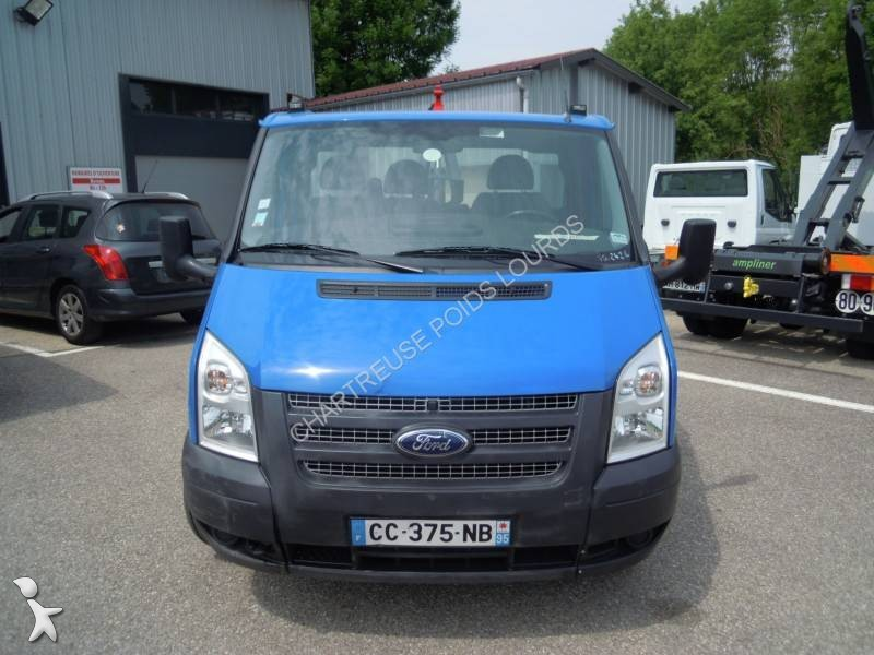 utilitaire benne ford ampliroll transit 100t350 occasion n 2047847. Black Bedroom Furniture Sets. Home Design Ideas