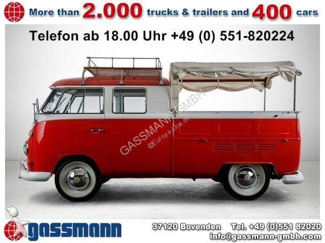 combi volkswagen t1 crew cab pickup occasion n 2063581. Black Bedroom Furniture Sets. Home Design Ideas
