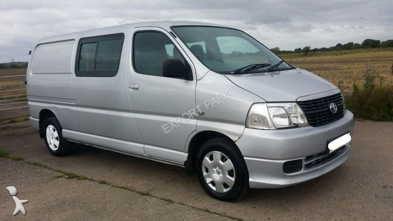 Used Toyota Hiace Cargo Van 25 D 4D DC LANG AIRCO Right Hand Drive