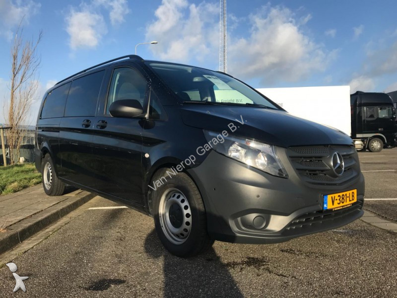 fourgon utilitaire mercedes vito tourer 114cdi automaat airco navi dub cab occasion n 2429971. Black Bedroom Furniture Sets. Home Design Ideas