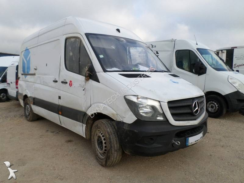 fourgon utilitaire mercedes sprinter 213 cdi gazoil occasion n 2472851. Black Bedroom Furniture Sets. Home Design Ideas
