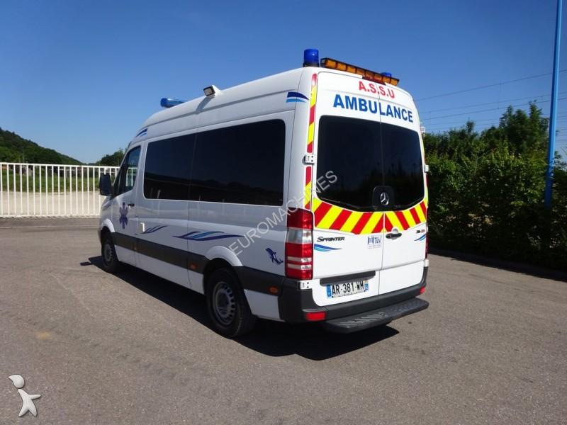 ambulance mercedes sprinter occasion n 1715037. Black Bedroom Furniture Sets. Home Design Ideas