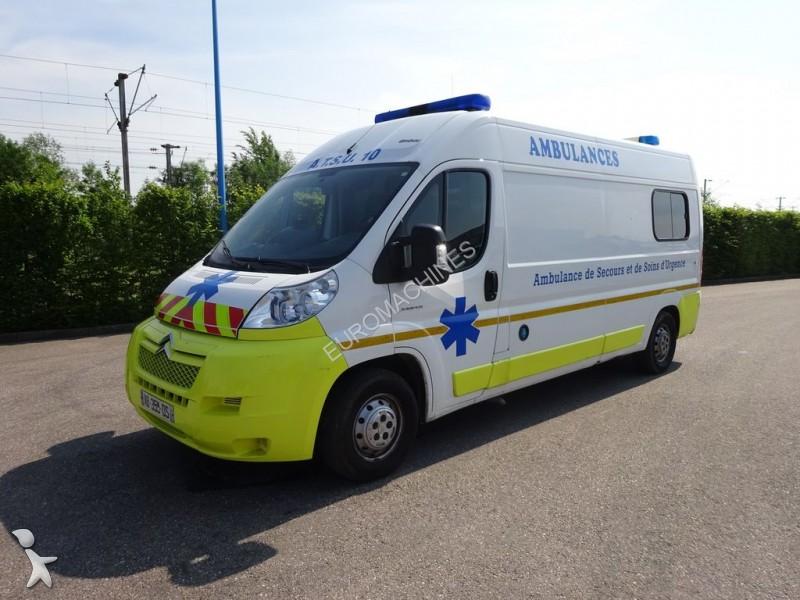 ambulance occasion citro n nc jumper l3h2 120 cv annonce n 1719538. Black Bedroom Furniture Sets. Home Design Ideas