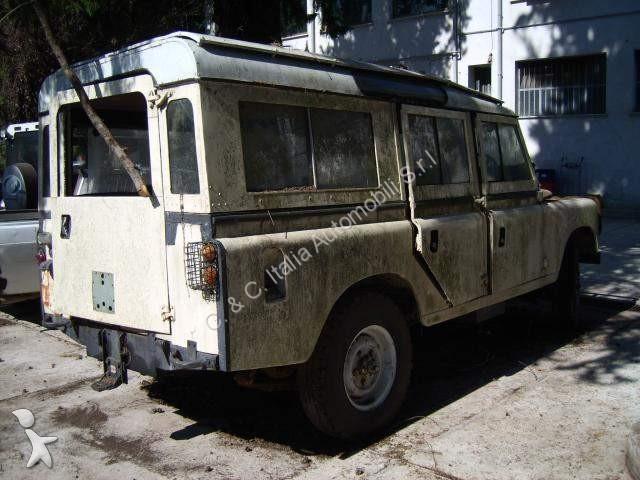 voiture land rover pick up defender 109 lungo d occasion. Black Bedroom Furniture Sets. Home Design Ideas