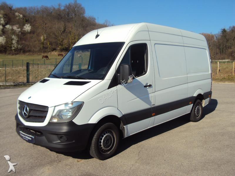used mercedes sprinter cargo van fg 219 bluetec 37s 3t0 be diesel n 2062451. Black Bedroom Furniture Sets. Home Design Ideas