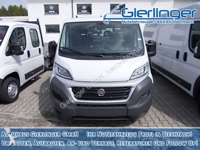 utilitaire plateau fiat ridelles ducato doppelkabiner l4h1 130 mj neuf n 2274467. Black Bedroom Furniture Sets. Home Design Ideas