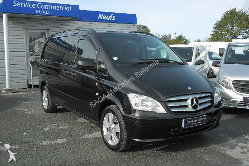 fourgon utilitaire mercedes vito fg 122 cdi compact 2t8 5. Black Bedroom Furniture Sets. Home Design Ideas