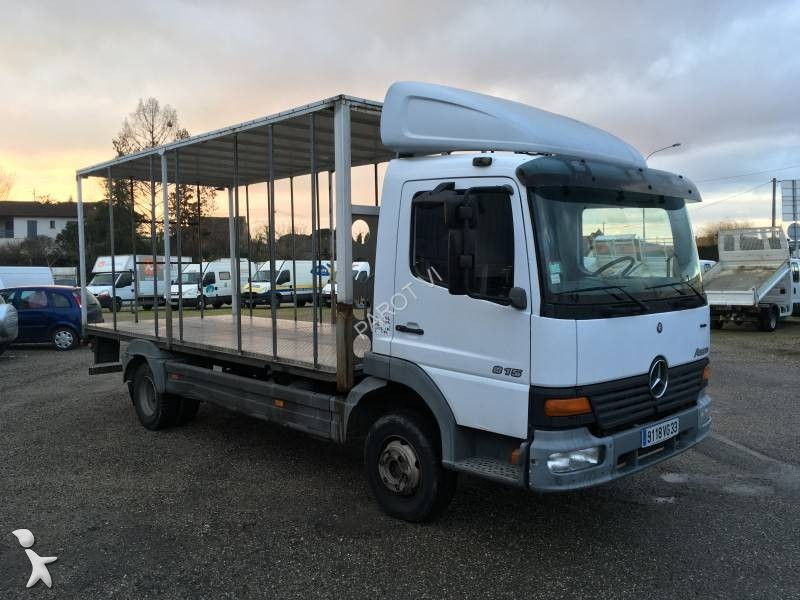 utilitaire b taill re occasion mercedes atego 815 k. Black Bedroom Furniture Sets. Home Design Ideas