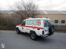 Bekijk foto's Bedrijfswagen Toyota Land Cruiser Ambulance, VDJ 78, 4.2L