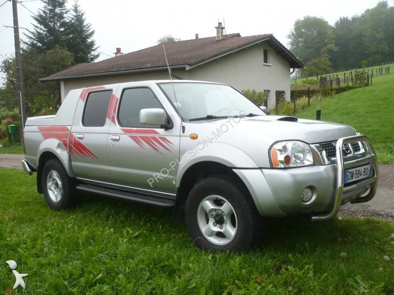 voiture pick up occasion nissan navara king cab d22 2 5 tdi pickup double cabine 133cv. Black Bedroom Furniture Sets. Home Design Ideas