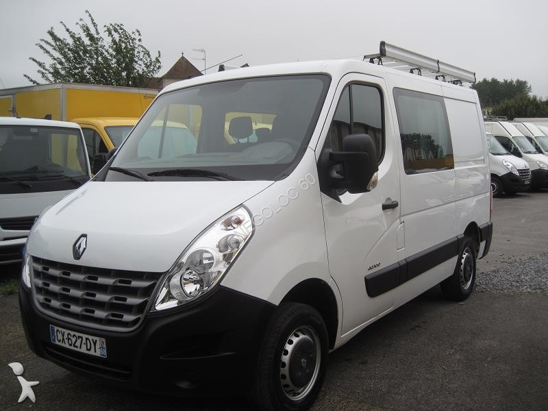 fourgon utilitaire renault master 2 3 dci 100 cv 7 places