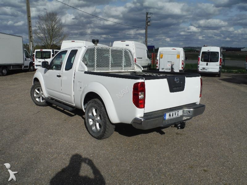 utilitaire plateau nissan navara 2 5 dci 190 king cab optima 4x4 occasion n 2000289. Black Bedroom Furniture Sets. Home Design Ideas