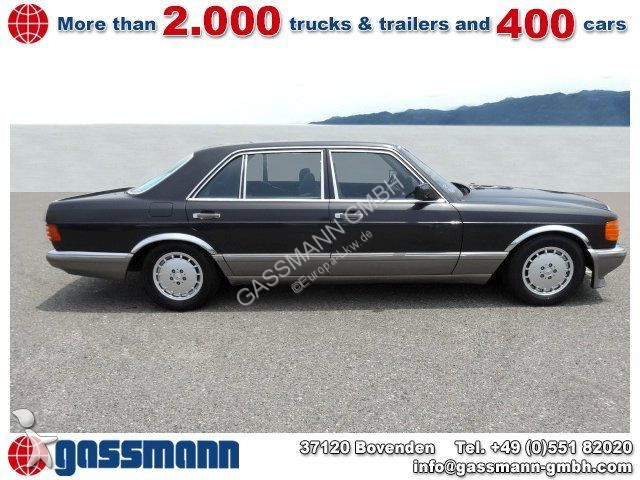 voiture mercedes cabriolet 500 sel limousine 5x. Black Bedroom Furniture Sets. Home Design Ideas