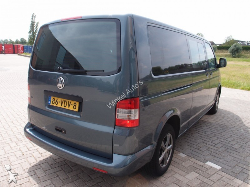 fourgon utilitaire volkswagen transporter 2 5 tdi caravelle dc 131pk l2h1 airco cruise occasion. Black Bedroom Furniture Sets. Home Design Ideas