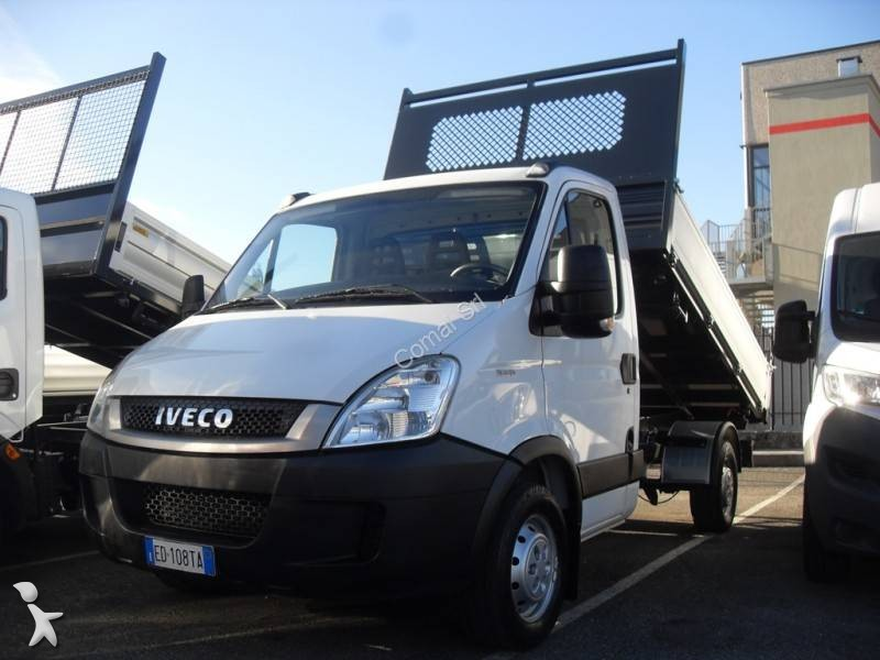 utilitaire benne iveco tri benne daily 35s13 occasion n 2334588. Black Bedroom Furniture Sets. Home Design Ideas