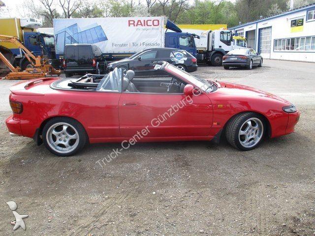 voiture toyota cabriolet celica 2 0 cabriolet gti occasion n 2103896. Black Bedroom Furniture Sets. Home Design Ideas