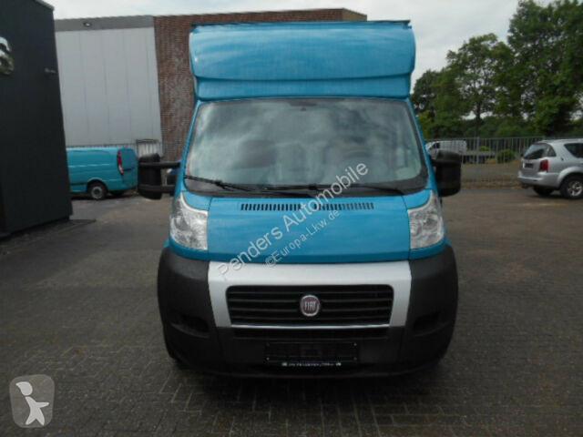Fiat Garage Arnhem : Gebrauchter fiat koffer ducato tiefrahmen koffer diesel n°