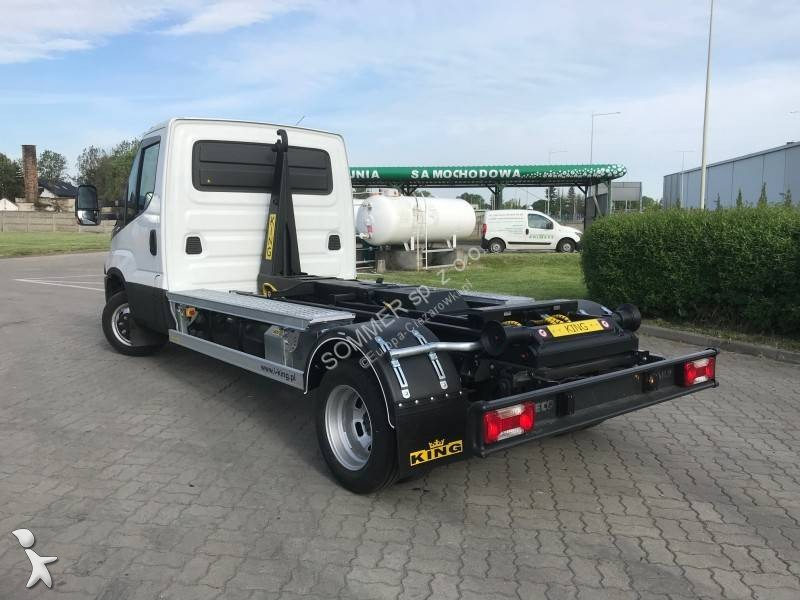 utilitaire benne iveco ampliroll daily 50c15 4x2 neuf n 2803085. Black Bedroom Furniture Sets. Home Design Ideas