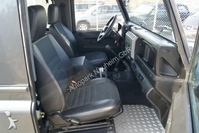 voiture pick up occasion land rover defender 90 station wagon se annonce n 990392. Black Bedroom Furniture Sets. Home Design Ideas