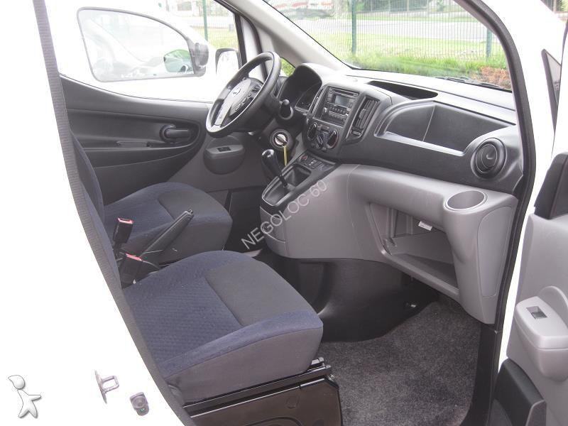 furgone nissan nv200 1 5 dci 90cv cabine approfondie 5 places usato n 1818350. Black Bedroom Furniture Sets. Home Design Ideas