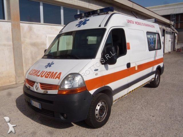 ambulance renault master 150dci ambulanza occasion n 2249901. Black Bedroom Furniture Sets. Home Design Ideas