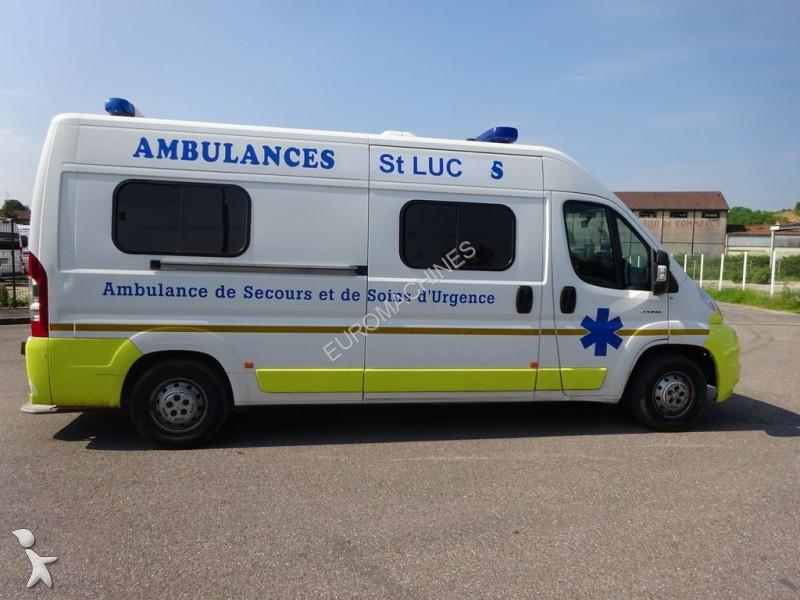 ambulance citro n jumper l3h2 120 cv occasion n 1719538. Black Bedroom Furniture Sets. Home Design Ideas