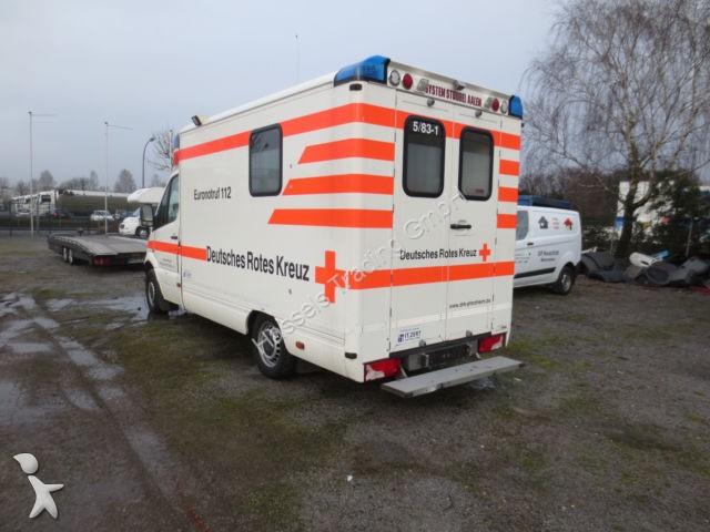 ambulance mercedes 316 cdi occasion n 1869582. Black Bedroom Furniture Sets. Home Design Ideas