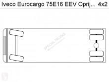 Voir les photos Véhicule utilitaire Iveco 6X Eurocargo 75E16 EEV Oprijwagen