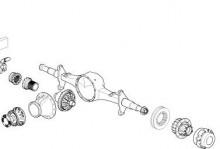 diferencial y eje de diferencial Renault