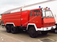 repuestos para camiones Steyr 1490 6x6 ROSENBAUER FIRE TRUCK 9000+4000 L TANK *9667km*NEW