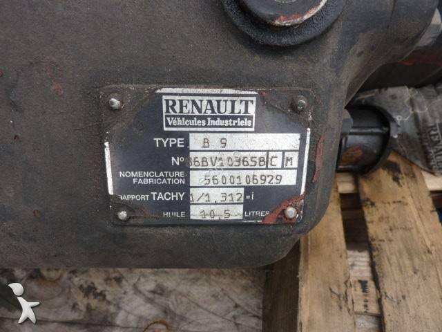 Запчасти для грузовика Renault boite de vitesse B9